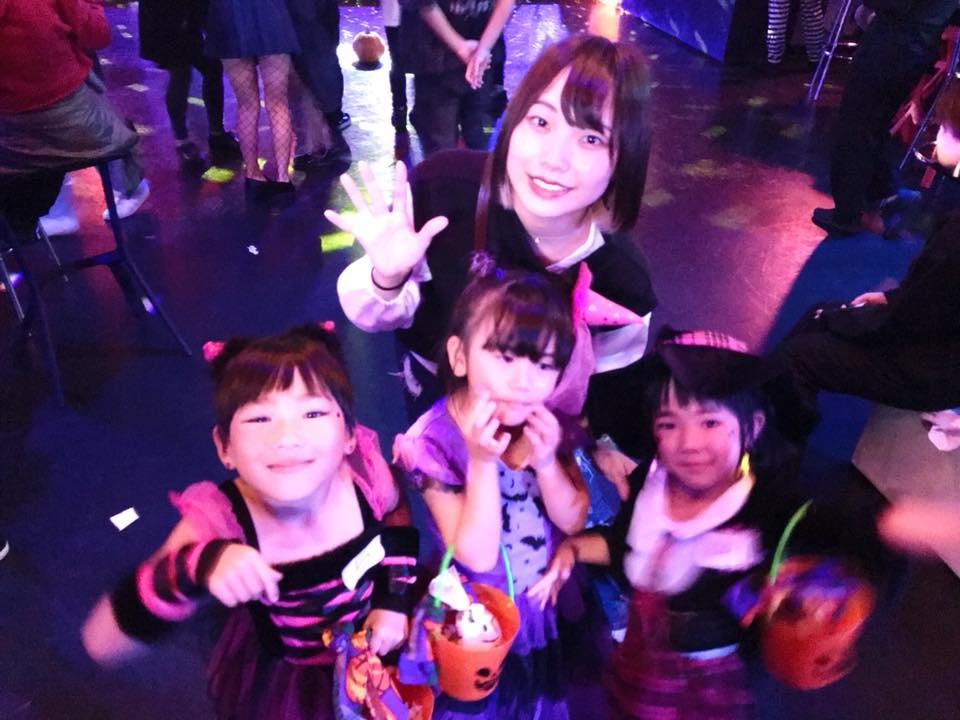 ダンススクールハロウィンイベント