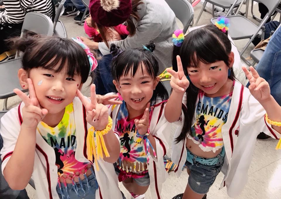 ダンススタジオチーム縁日出場